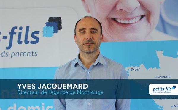 Yves Jacquemard, directeur de l'agence Petits-fils Montrouge, recrute un∙e chargé∙e de coordination