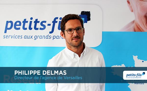 Philippe Delmas, directeur de l'agence Petits-fils Versailles, recrute 1 responsable du recrutement