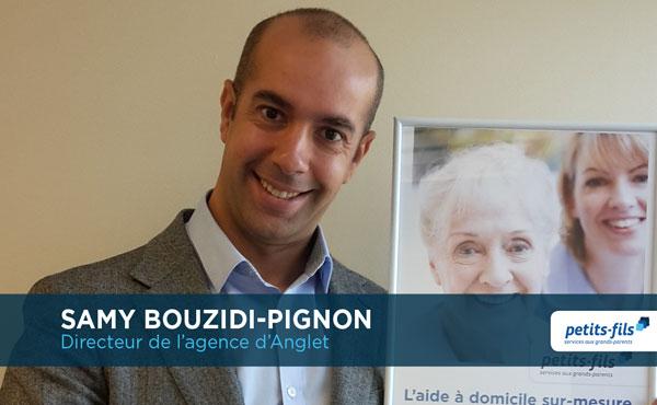 Samy Bouzidi-Pignon, directeur de l'agence Petits-fils Anglet, recrute un∙e responsable de secteur.