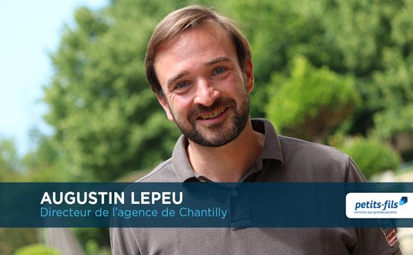 Augustin Lepeu, directeur de l'agence Petits-fils Chantilly, recrute un∙e responsable de secteur.