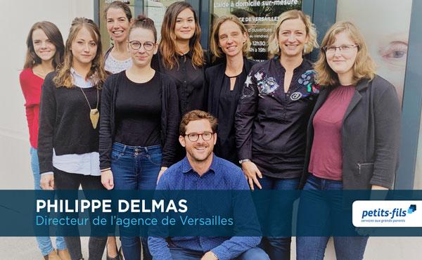Offre d'emploi - Responsable de secteur à Versailles (78) - Petits-fils, aide à domicile pour personnes âgées