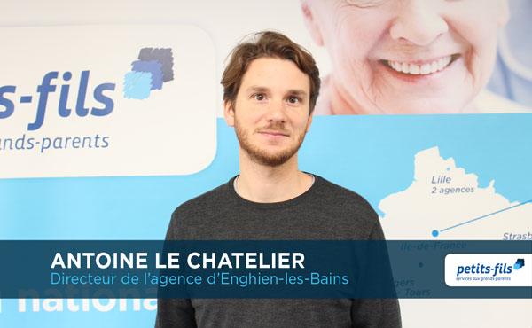 Antoine Le Chatelier, directeur de l'agence Petits-fils Enghien-les-Bains, recrute un∙e responsable de secteur.