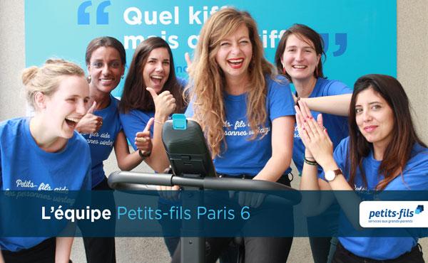 Offre d'emploi pour un∙e responsable de secteur au sein de l'agence Petits-fils Paris 6