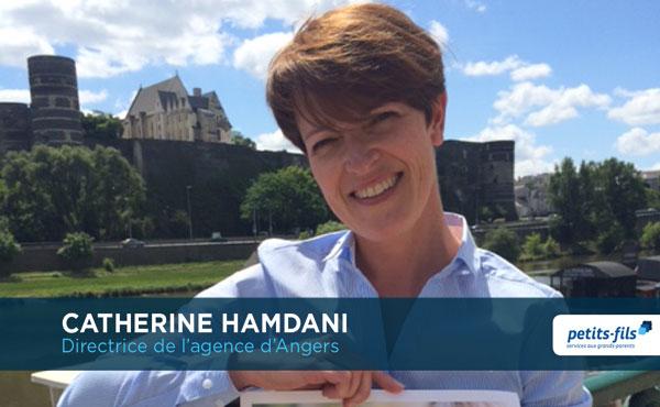 Catherine Hamdani, directrice de l'agence Petits-fils Angers, recrute un∙e responsable de secteur.