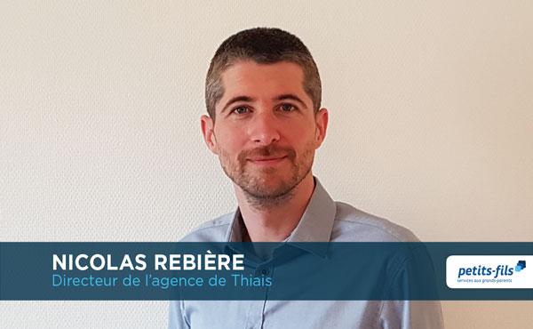 Nicolas Rebière, directeur de l'agence Petits-fils Thiais, recrute un∙e responsable de secteur.