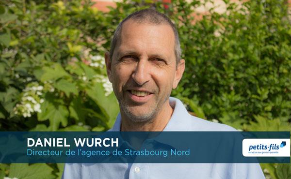 Daniel Wurch, directeur de l'agence Petits-fils Strasbourg Nord, recrute un∙e responsable de secteur.