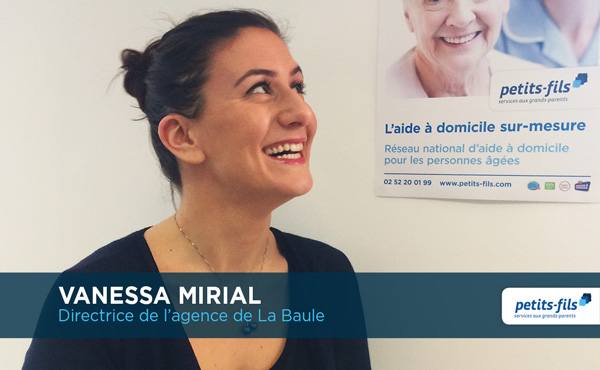 Vanessa Mirial, directrice de l'agence Petits-fils La Baule, recrute un∙e responsable de secteur.