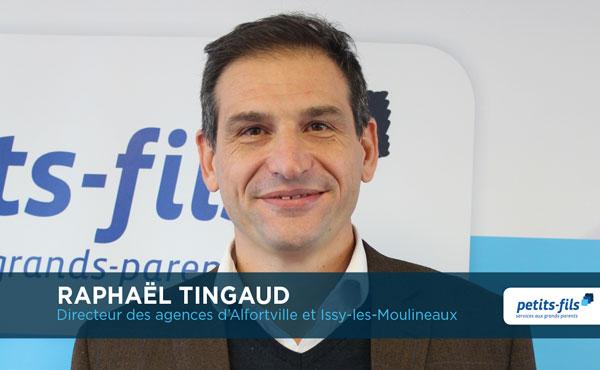 Raphaël Tingaud, directeur de l'agence Petits-fils Alfortville, recrute un responsable d'agence